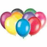 """15 x 12"""" Latex Balloons (Party Decorations) ALL COLOURS"""