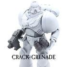 Space Marine Custom Warhammer 40K McFarlane Action Figure Weapons Helmet Head 6\