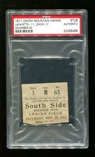 1911 Lafayette @ Lehigh Football Ticket 11/25/11 PSA 22299466