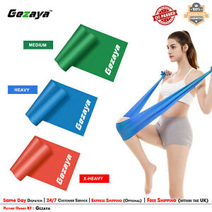 Theraband Thera-Band Resistance Bands Home Exercise Pilates Physio Yoga Catapult