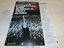 ROBBIE WILLIAMS - LIVE SUMMER 2003!! PUBLICITE / ADVERT