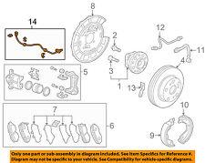 Acura HONDA OEM 07-13 MDX ABS Anti-lock Brakes-Rear Speed Sensor 57470STXA01