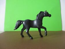 PLAYMOBIL FIGURES PLAYMOBIL BLACK HORSE