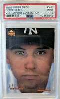 1996 96 Upper Deck V.J. Lovero Showcase Derek Jeter Rookie RC #VJ3, Rare PSA 9