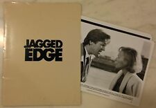 JAGGED EDGE (1985) Press Kit Folder, Photos; Jeff Bridges, Glenn Close; Thriller
