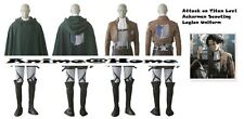 New Top Quality Attack on Titan Levi Ackerman Scouting Legion Costume Cosplay