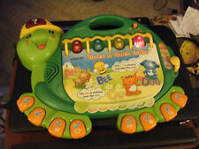 vtech Touch & Teach Turtle Electronic Learning Toy #0798