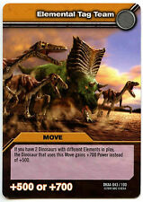 Elemental Tag Team #43 Dinosaur King Alpha Dinosaurs Attack TCG Card (C366)