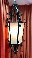 Grande lanterne en fer forgé