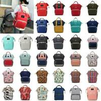 Waterproof Large Capacity Mummy Nappy Diaper Bag Baby Changing Nursing Backpack