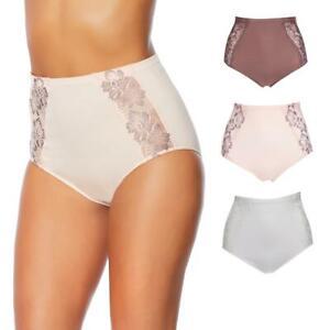 Rhonda Shear Seamless Lace Brief 3-pack 605377-J