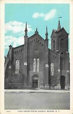 A View of the First Presbyterian Church, Medina Ny