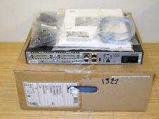 NEW CISCO 1921/K9 Integrated Services Router 2x Gbit, 2x EHWIC NEU OVP