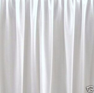 """21 """" QUEEN WHITE BEDSKIRT OR DUST RUFFLE  SPLIT CORNERS made in usa"""