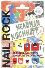 Topshop Nail Rock Wraps Art Meadham Kirchhoff AW12 RARE BNIP Designer Stickers