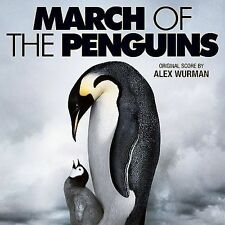 1 CENT CD March of the Penguins [SCORE] alex wurman