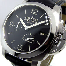 UNWORN PANERAI PAM 321 STEEL  44 mm LUMINOR GMT POWER RESERVE PAM 00321