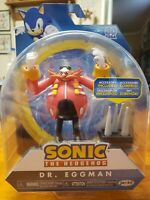 🔥*NEW* Sonic The Hedgehog Dr. Eggman Action Figure W/ Spike Trap🔥 Jakks Wave 4