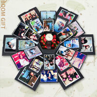 Memory Photo Album Anniversary Scrapbook Creative Birthday Gift Explosion Box
