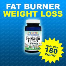 FORSKOLIN EXTRACT 2000mg 20% STANDARDIZE COLEUS FORSKOHLII Weight Loss Made USA