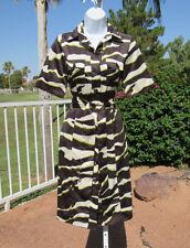Vintage 1980s 90s Zara Basic Size Small Mod 3D Pattern Polyester Dress Belt