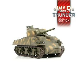 1:24 U.S M4A3 Sherman RC Tank 2.4GHz Infrared RTR War Thunder Edition