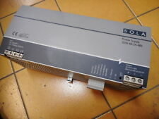 SOLA POWER SUPPLY --24DC at 40amps!!!! -- 3phase supply -- SDN-40-24-480