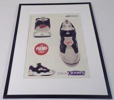 fcf95198a86f 2001 Reebok Pump   Champs Sports Framed 11x14 ORIGINAL Advertisement