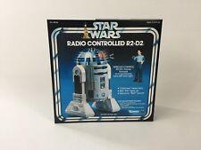 Reemplazo Vintage Star Wars Kenner radio controlado r2-d2 Caja
