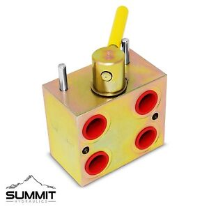 Manual Hydraulic Multiplier, SCV Splitter / Diverter Valve Turn 1 Circuit into 2