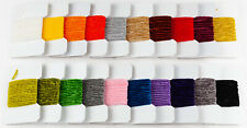 Assortment of 20 Cards Medium Chenille - Fly Tying Materials