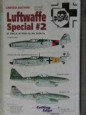 1/48 Cutting Edge LUFTWAFFE SPECIAL #2 Messerschmitt Bf 109G & Me 262's OOP