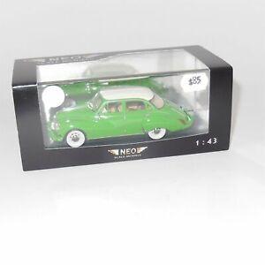 Neo Model 45085 DKW 3=6 F94 4-Door Sedan 1956 Green