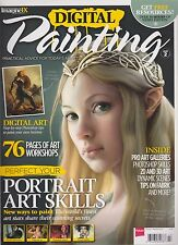 IMAGINE FX MAGAZINE PRESENTS DIGITAL PAINTING Vol.2, 76 PAGES OF ART WORKSHOP.