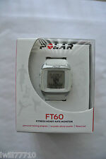 Polar FT60 Fitness Heart Rate Monitor Watch White