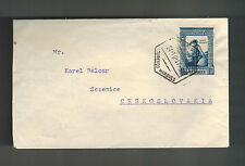 1947 Lorenzo Marques Mozambique Airmail cover  to Sezemice Czechoslovakia