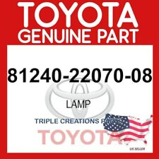 812402207008 GENUINE Toyota LAMP 81240-22070-08 OEM