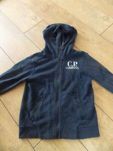 BOYS CP COMPANY TRACKSUIT TOP HOODIE AGE 10 YEARS