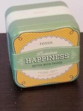 Fossil Premium Happiness Better When Shared Pure Joy Tin (Empty)