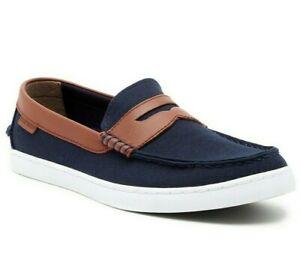 Cole Haan Nantucket Loafer II Shoes size 13 $100 Blazer Blue / Chestnut