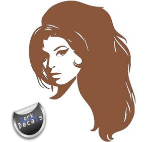 Amy Winehouse, Wall, Door, Art, Vinyl, Decal, Sticker.