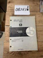 John Deere 310D Backhoe Loader Engine Transmission Service Repair Manual TM1497