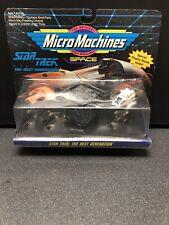 Star Trek The Next Generation  Micro Machines Ferengi Marauder Borg Cube Shuttle