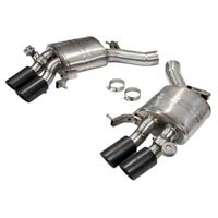 BMW M6 Series F12 F13 V8 Premium Valvetronic Exhaust Mufflers with Carbon Tips
