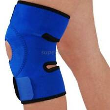 Adjustable Straps Knee Brace Guard Neoprene Patella Support Tendon Splint B/Blue