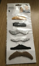 Brand New In Pack Fancy Dress Fake Tache Moustaches Tiger Overskaeg