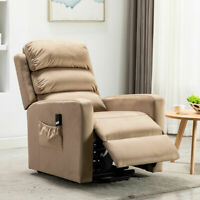 Electric Power Lift Recliner Padded Chair Living Room Armchair Large Sofa