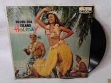 South Sea Island Holiday Record Album Tahitian Aires Hawaiian Music