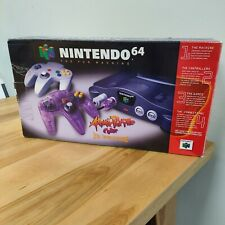 Nintendo 64 N64 Atomic Purple Box ONLY, NO CONSOLE- BOX ONLY 1998