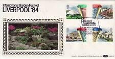 Benham BLS Series FDC Liverpool Garden Festival SHS Abbey National and logo 1984